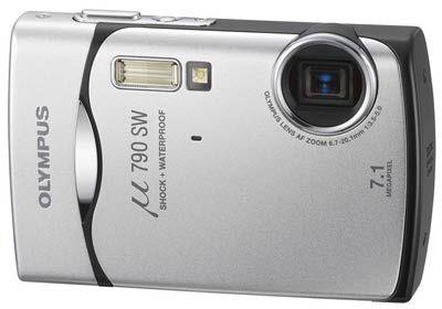 Olympus Mju 790 SW stříbrný