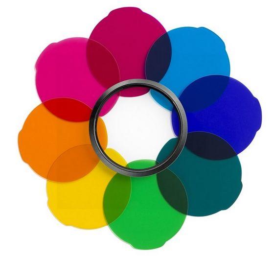 Manfrotto filtry MULTICOLOUR pro LED světlo Lumie ART/MUSE