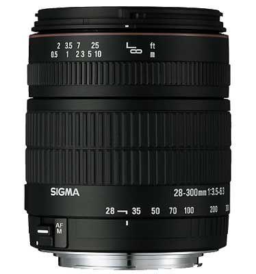 Sigma 28-300 mm F 3,5-6,3 DG MACRO pro Nikon + utěrka Sigma zdarma!