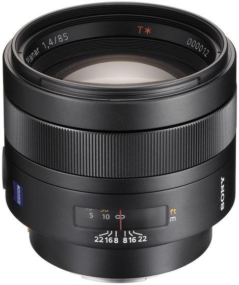 Sony 85 mm f/1,4 ZA Planar T