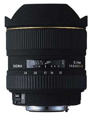 Sigma 12-24 mm F 4,5-5,6 EX DG ASPHERICAL IF pro Sony + utěrka Sigma zdarma!