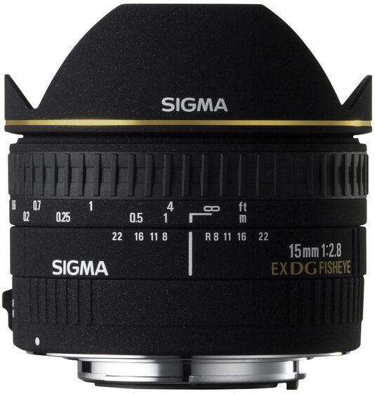 Sigma 15mm f/2,8 EX DG DG rybí oko pro Sony