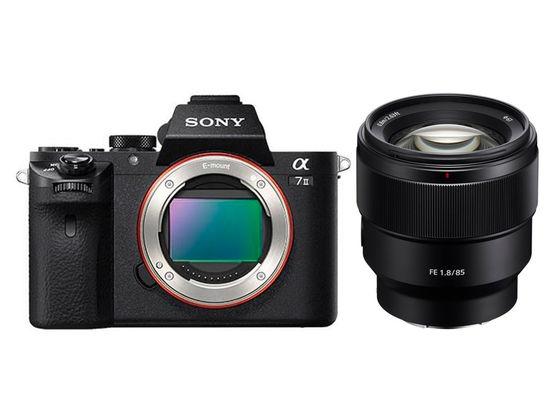 Sony Alpha A7 II +  FE 85 mm f/1,8