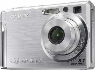 Sony DSC-W90 stříbrný