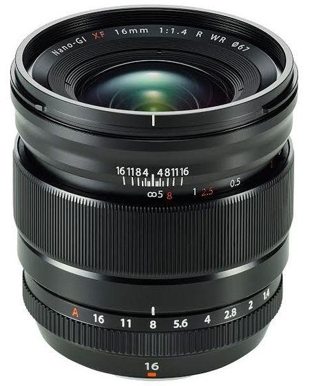 Fujifilm XF 16 mm f/1,4 R WR