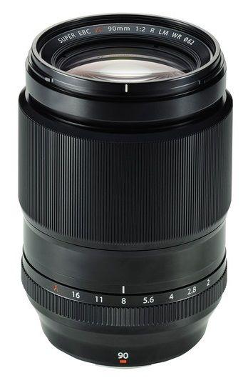 Fujifilm XF 90 mm f/2,0 R LM WR