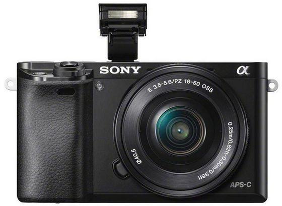 Sony Alpha A6000 + 16-50 mm černý - Video kit