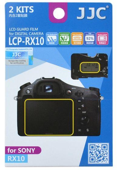 JJC ochranná folie LCD LCP-RX10 pro Sony CyberShot RX10, RX10 II, RX10 III a RX10 IV