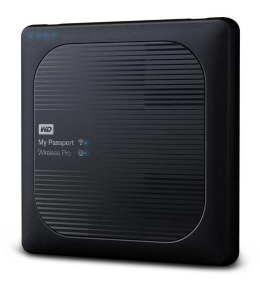 "Western Digital My Passport Wireless Pro 2TB, 2.5""USB 3.0, černý"