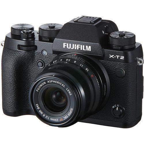 Fujifilm X-T2 tělo + 23 mm f/2,0 R WR černý