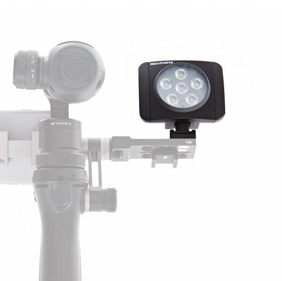 DJI Přisvětlovací modul Manfrotto Lumi LED pro OSMO