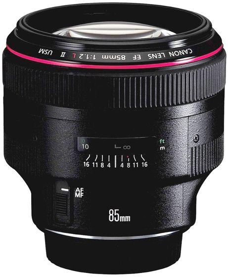Canon EF 85 mm f/1,2 L II USM