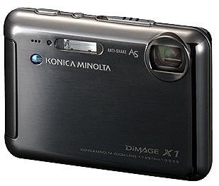 Konica Minolta DiMAGE X1 černá
