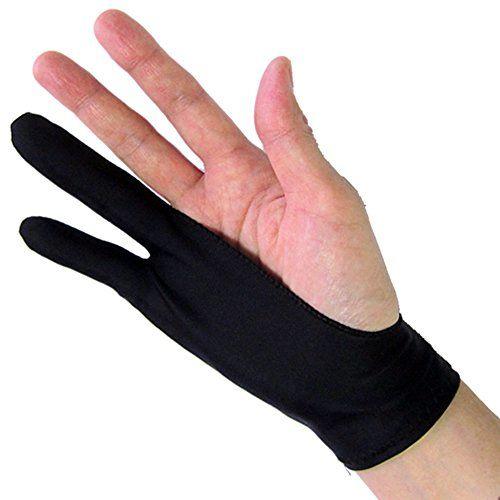 SmudgeGuard 2 rukavice velikost XS, černá