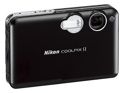 Nikon CoolPix S1 černý