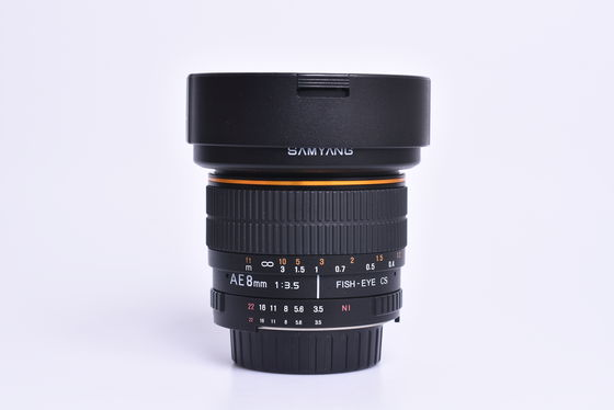 Samyang 8mm f/3,5 CS II pro Nikon bazar