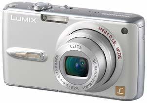 Panasonic DMC-FX07 stříbrný