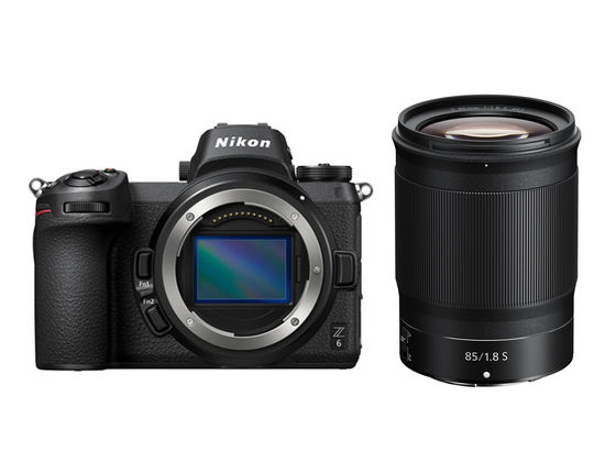 Nikon Z6 + Z 85 mm