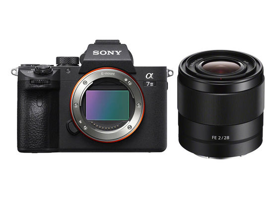 Sony Alpha A7 III +  FE 28 mm f/2,0 SEL