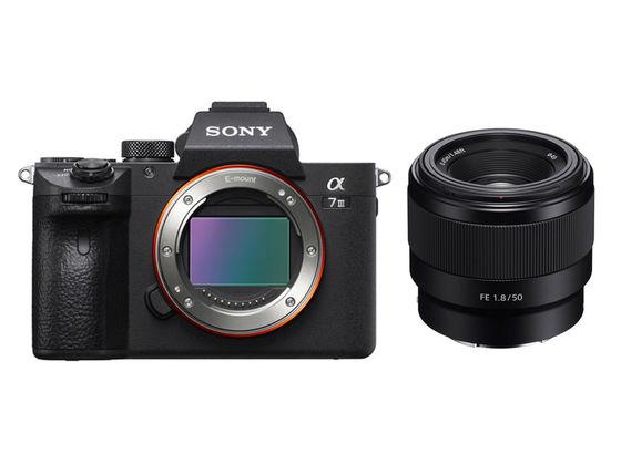 Sony Alpha A7 III + FE 50 mm f/1,8