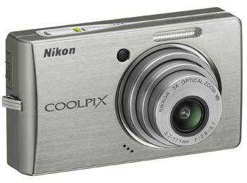 Nikon CoolPix S510 stříbrný