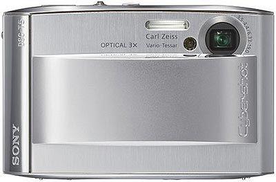 Sony DSC-T5 stříbrný