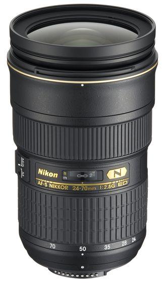 Nikon 24-70 mm f/2,8 AF-S G ED