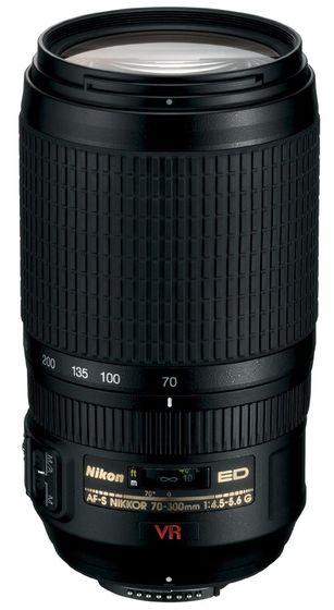 Nikon 70-300mm f/4,5-5,6 G AF-S Zoom Nikkor IF-ED VR