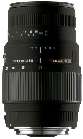 Sigma 70-300 mm F 4,0-5,6 DG MACRO pro Sigma + utěrka Sigma zdarma!