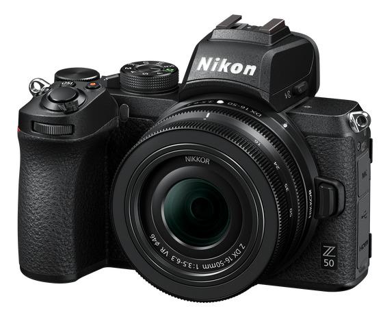 Nikon Z50 + 16-50 mm