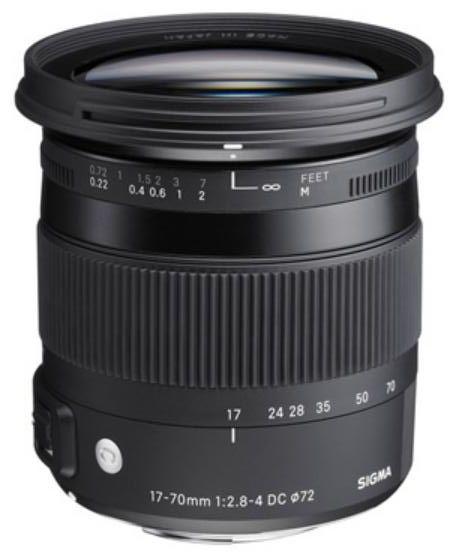 Sigma 17-70 mm f/2,8-4,0 DC Macro HSM Contemporary pro Pentax