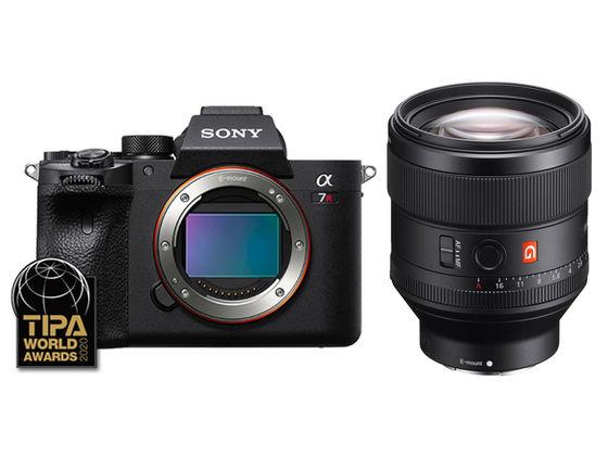 Sony Alpha A7R IV + FE 85 mm f/1,4 GM