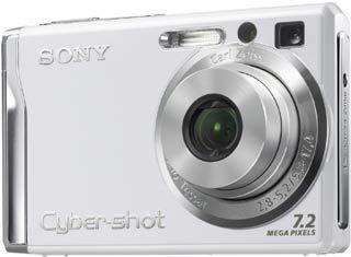 Sony DSC-W80 bílý