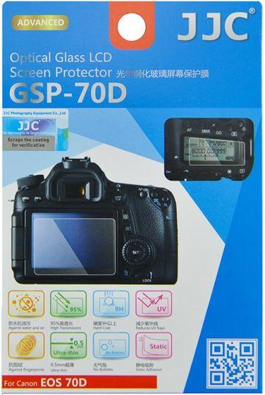 JJC ochranné sklo na displej pro Canon EOS 70D, 80D a 90D