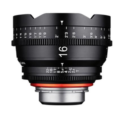 Samyang XEEN CINE 16 mm T/2,6 pro Canon EF