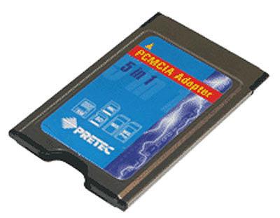 iTec redukce pro paměťovou karty 5in 1/ PCMCIA adapter