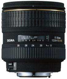 Sigma 17-35 mm F 2,8-4,0 EX DG Aspherical pro Sony