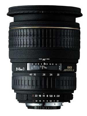 Sigma 20-40 mm F 2,8 EX DG ASPHERICAL IF pro Sony