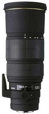 Sigma 120-300 mm F 2,8 APO EX IF DG HSM pro Sigma + utěrka Sigma zdarma!
