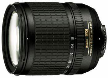 Nikon 18-135 mm F 3,5-5,6G AF-S DX bez obalu