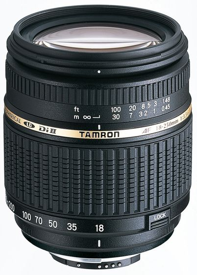 Tamron AF 18-250 mm F/3.5-6.3 Di-II pro Nikon