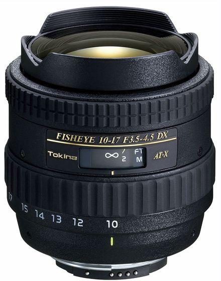 Tokina AT-X 10-17 mm f/3,5-4,5 AF DX pro Canon