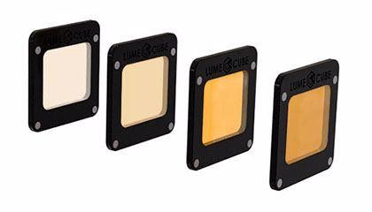 LUME CUBE Sada 4 gelových CTO filtrů