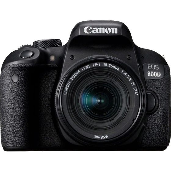 Canon EOS 800D + 18-55 mm IS STM