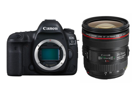 Canon EOS 5D Mark IV + EF 24-70 mm f/4,0 L IS USM