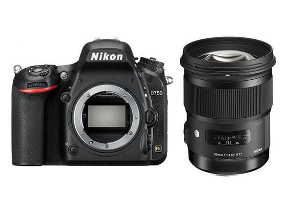 Nikon D750 + Sigma 50 mm f/1,4 DG HSM Art
