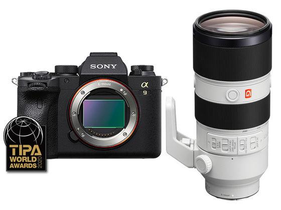 Sony Alpha A9 II + FE 70-200 mm f/2,8 GM OSS