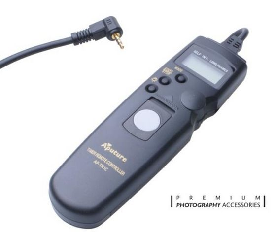 Aputure Digital LCD AP-TR1C - kabelová spoušť (Canon)