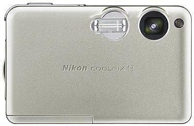 Nikon Coolpix S3 stříbrná
