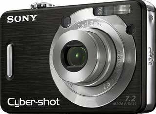 Sony DSC-W55 černý
